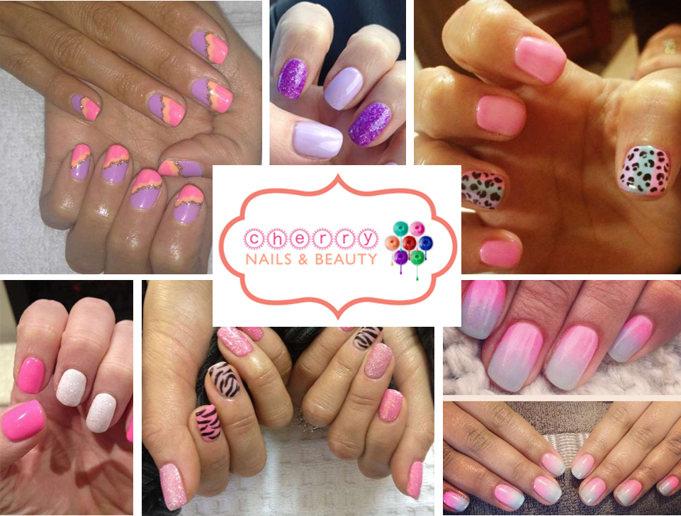 Nail love shellac nail art from cherry nails beauty beauty nail art prinsesfo Choice Image