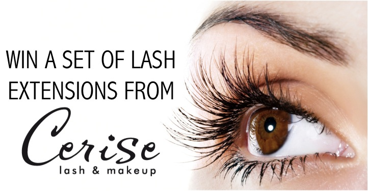 into win the Accent Lash Extensions voucher from Cerise Lash u0026 Makeup ...